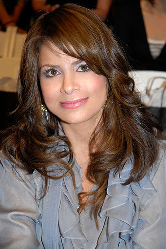 Paula Abdul - Abdul at the Los Angeles Fashion Week at Smashbox Studios in March 2007