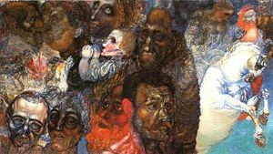 Pavel Filonov - Image: Pavel Filonov Heads