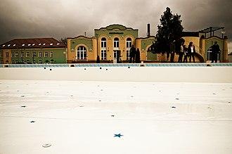 Ocna Sibiului - Image: Pavilionul băilor