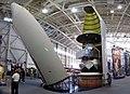 Payload fairing of H2 Rocket , H2 ペイロード フェアリング - Panoramio 112190789.jpg