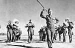 Pecos Army Airfield - Band Marching.jpg