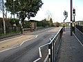 Pedestrian crossing, Sutton St Nicholas - geograph.org.uk - 1034651.jpg