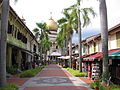 Pedestrian mall of Bussorah Street, Singapore - 20061216-02.jpg