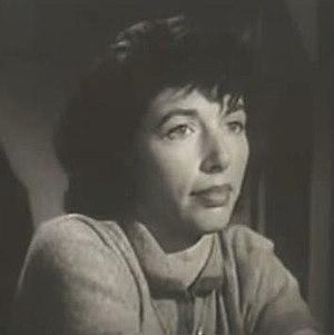 Peggy Webber - Webber in a 1955 episode of Dragnet