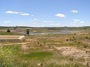 Pejar Dam - Pejar Dam in November 2005