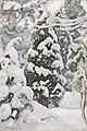 Pekka Halonen - Juniper Tree in Snow - A III 2692 - Finnish National Gallery.jpg