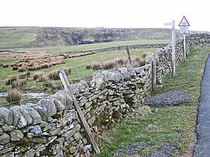 English: Pennine Way, Sleightholme At this poi...