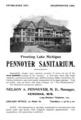 Pennoyer Sanitarium advertisement (1896).png