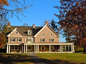 Pennypacker Mills - Western elevation