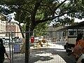 Pensilina della stazione in demolizione 08.JPG
