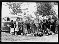 People standing in front of Merchant Tours bus, Port Lincoln(GN14434).jpg