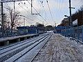 Peredelkino platform moscow west.jpg