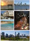 Australia - Perth, Scarborough, Widok z hotelu Ren