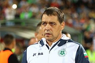 Petar Hubchev Bulgarian footballer and manager