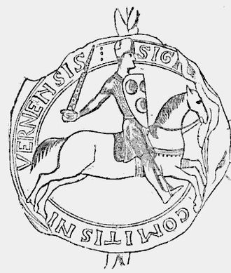 Theodore Komnenos Doukas - Seal of Peter of Courtenay