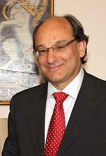 Peter Caruana Chief Minister of Gibralter