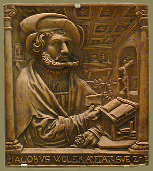 Peter Dell the Elder - Peter Dell the Elder, Portrait of Jakob Woler, 1529