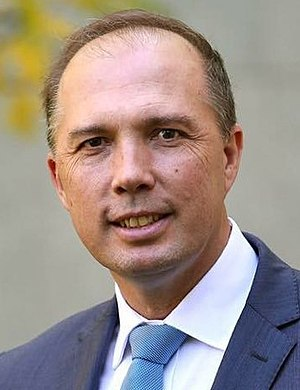 Minister for Home Affairs (Australia) - Image: Peter Dutton at Parliament House cropped