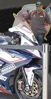 Peter Hickman UK-based motorcycle road racer