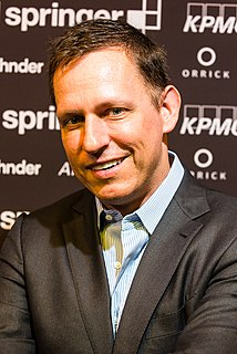 Peter Thiel German-born American–New Zealand entrepreneur, venture capitalist, and hedge fund manager