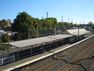 Petersham railway station
