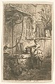 Petite femme tenant un sceau au bord d'un puits (NYPL b14917511-1212113).jpg
