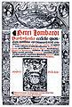 Petrus Lombardus Sententiarum textus 1513 Titel (Isny).jpg