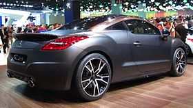 peugeot rcz wikip dia. Black Bedroom Furniture Sets. Home Design Ideas