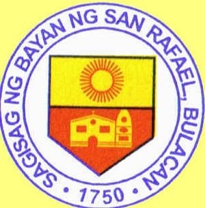 seal of the municipality of San Rafael, Bulacan