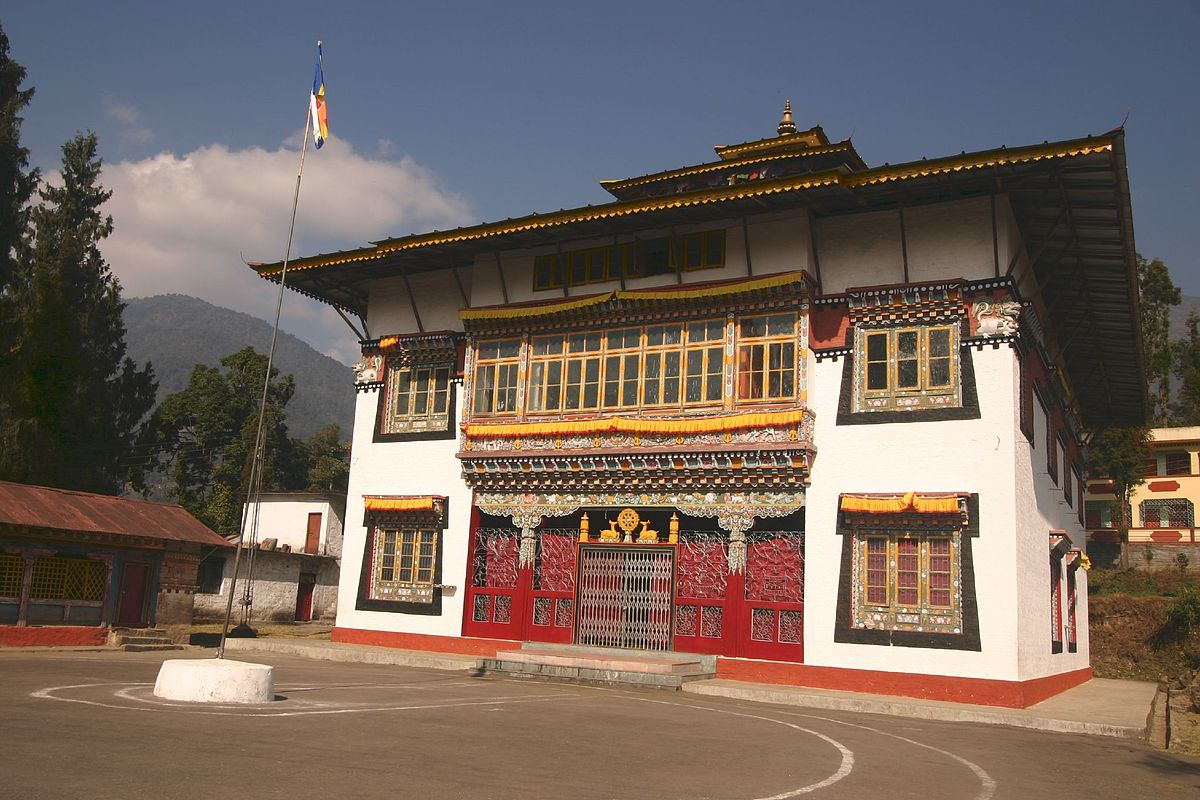 Phensang Monastery in Sikkim