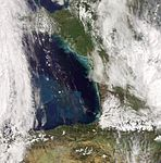 Phytoplankton bloom in the Bay of Biscay - Envisat.jpg