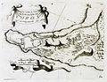 Pianta della Cittá e Fortezza di Coron cogl accampamenti del 1685 - Coronelli Vincenzo Maria - 1708.jpg