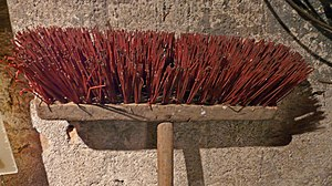Piassava - Old Piassava broom