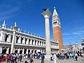 Piazza San Marco - Colonne di San Marco e San Todaro - panoramio.jpg