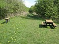 Picnic area and railway path near Hardwick Hall - geograph.org.uk - 413648.jpg