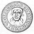 Pieczęć z 1271 roka. Komturia Wolkenberg.jpg