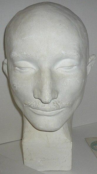 Pierre François Lacenaire - Phrenological bust of Pierre François Lacenairee, circa 1836