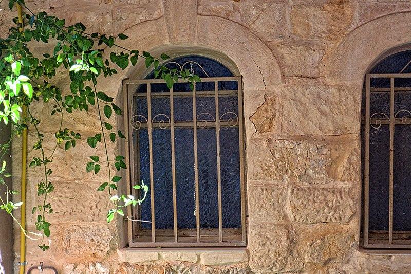 צפת העתיקה,חלונות