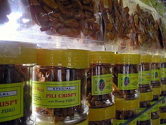 Canarium ovatum - Candied pili nuts from Camarines Sur province, Philippines