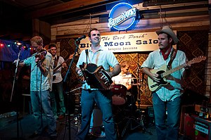 Pine Leaf Boys at the Blue Moon Saloon.