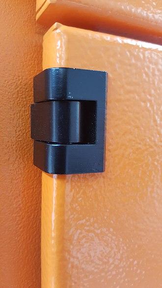 Pintle - Image: Pintle Hinge 1