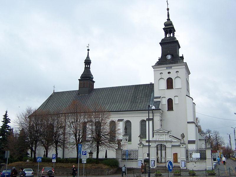 Kościół i klasztor o.o. bernardynów przy pl. Kościuszki