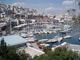 View of Mikrolimano, Piraeus.