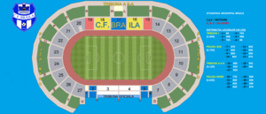 Stadionul Municipal (Brăila) - Image: Plan Stadion Municipal Braila