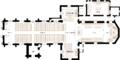 Plan détaillé de l'église St-Patrice de Bayeux.png