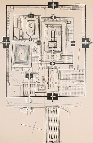 Meenakshi Temple - Plan of the temple