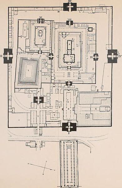 File Plan Of Meenakshi Amman Temple Madurai India Jpg