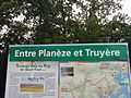 Planeze et Truyere in October 2015 sign.jpg