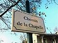 Plaque Chemin Chapelle St Cyr Menthon 2011-11-23.jpg