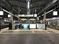 Platform of Tengachaya Station (Nankai) 3.jpg